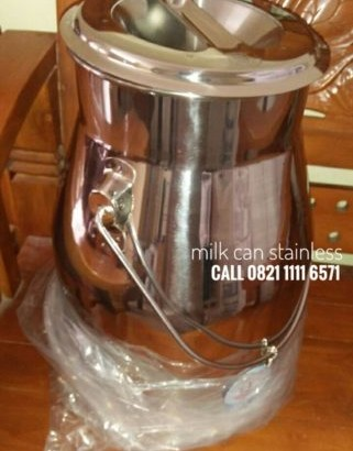 Milkcan Stainless Uk 15 Liter