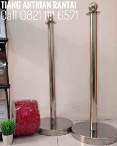 tiang-antrian-stainless-call-0821-1111-6571