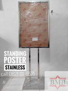 Tiang-display-a1-stainless-hubungi-0821-1111-6571