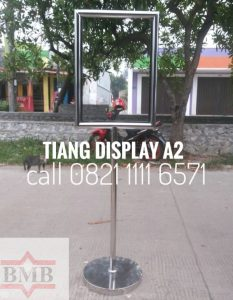 tiang-display-a2-stainless-hubungi-0821-1111-6571